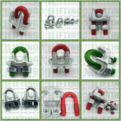 US Type Drop Forged Wire Rope Clip Details