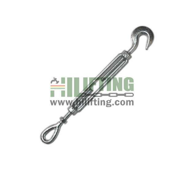 US Type Hook And Eye Forged Turnbuckle