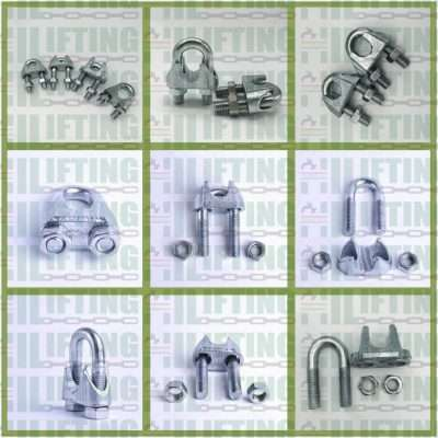 US Type Malleable Wire Rope Clip Details
