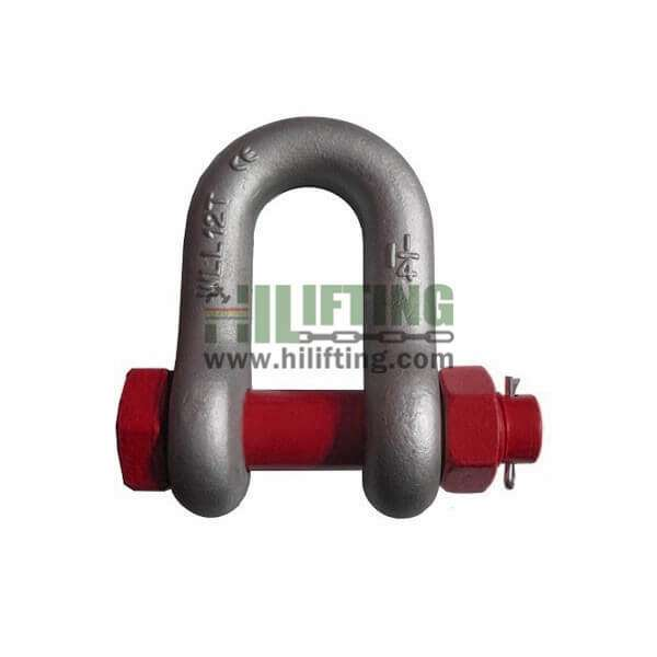 US Type Safety Chain Shackle