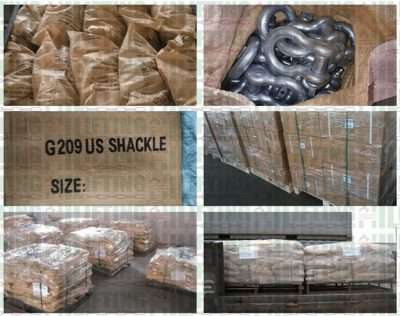 US Type Screw Pin Anchor Shackles Packages