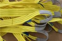 Webbing Slings with Flat eye yellow