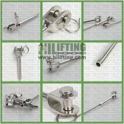 Stainless Steel Swaged Jaw Terminal Details