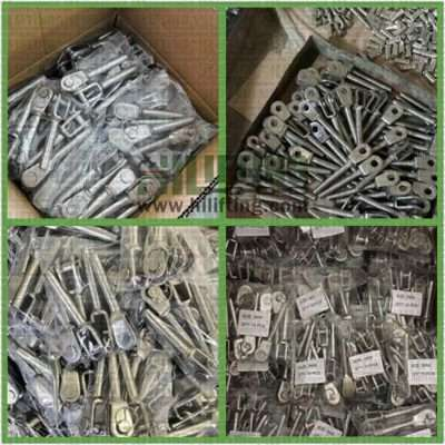 Stainless Steel Swaged Jaw Terminal Packing