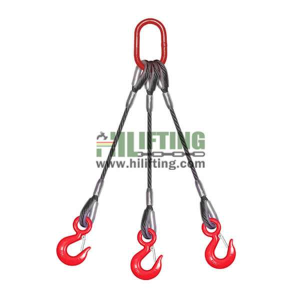 3 Leg Wire Rope Sling
