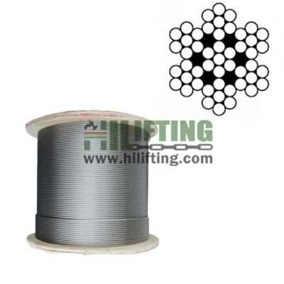 7×7 Stainless Steel Wire Rope
