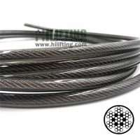 7X19 PVC Coated Stainless Steel Wire Rope