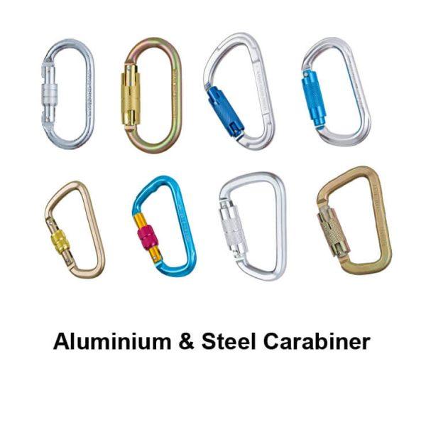 Aluminium&Steel Carabiner