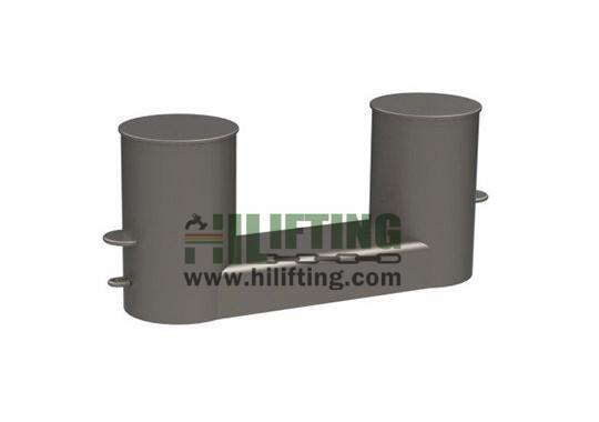 Double Bollard DIN82607