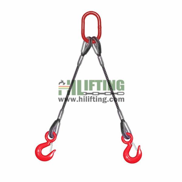 DoubleLeg Wire Rope Sling