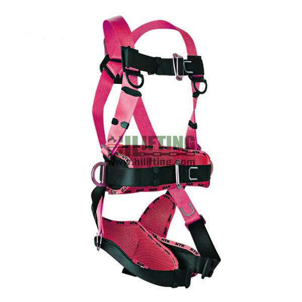 Fall Protection Safety Harness With Work-Positioning Belt