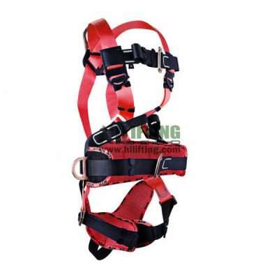 Fall Protection Safety Harness With Work-Positioning & Clambing Belt