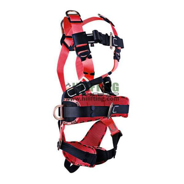 Fall Protection Safety Harness With Work-Positioning, Clambing Belt & Shoulder Ring