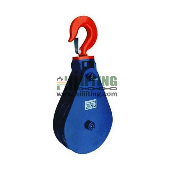 H408 Light Type Champion Snatch Block With Hook