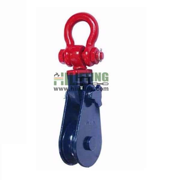 H419 Heavy Type Champion Snatch Block With Shackle