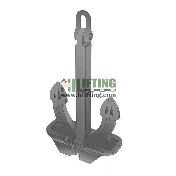 Hall Type of Stockless Anchor