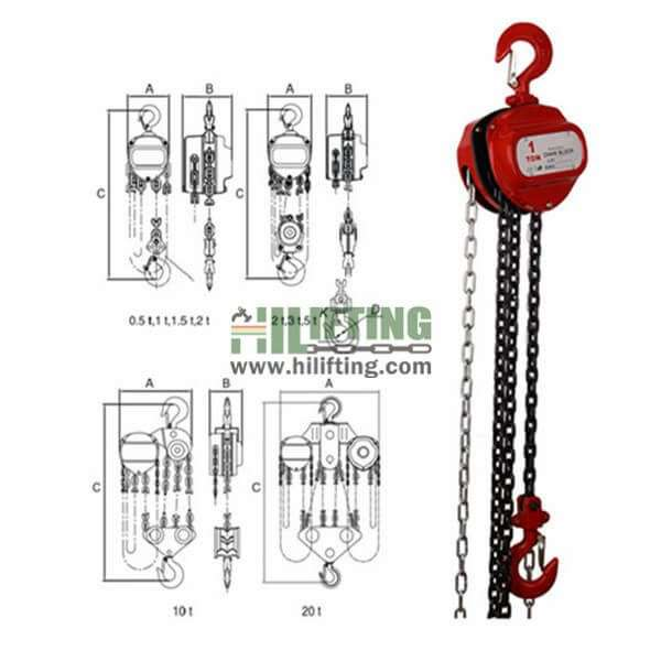 Manual Chain Block CK Type