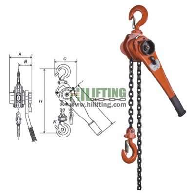 Manual Lever Hoist VL Type