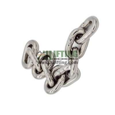 Stainless Steel DIN766 Short Link Chain