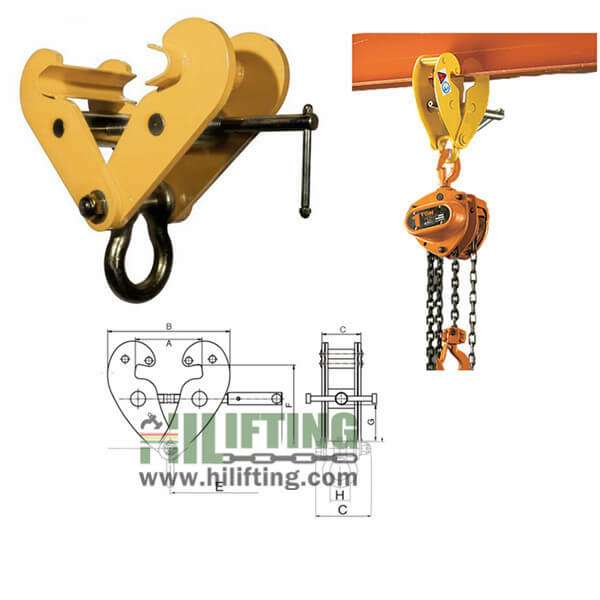 Standard Beam Clamp With Shackle