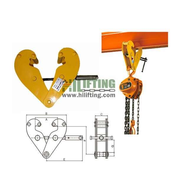 YC Standard Beam Clamp