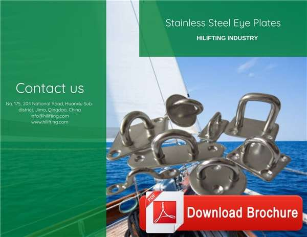 Stainless Steel Eye Plates