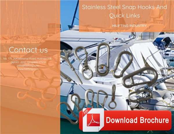 Stainless Steel Snap Hooks And Quick Links Download