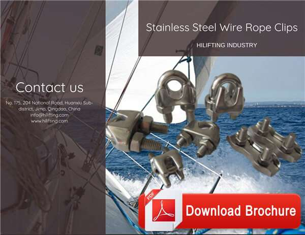 Stainless Steel Wire Rope Clips Download