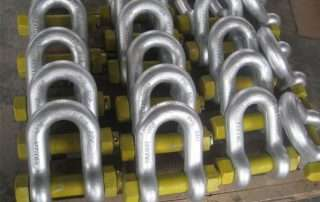 Hot dipped galvanized shackle