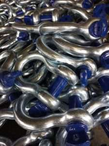 High Strength Shackles Surface Finish